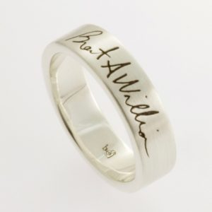 Your Signature Ring in Sterling Silver