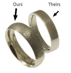 Brent&Jess vs a commercial fingerprint ring