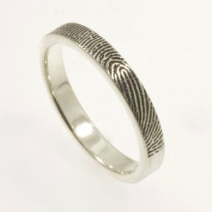 3mm flat fingerprint band