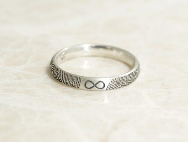 Custom 3mm infinity ring