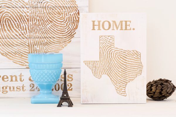 Texas home wall art